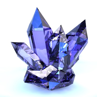 Crystals, they shine, they sparkle, they capture and refract light. And they even grow. Yeah, me too.