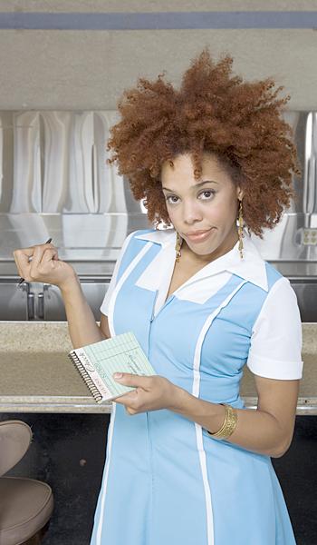 Waitress, bad attitude